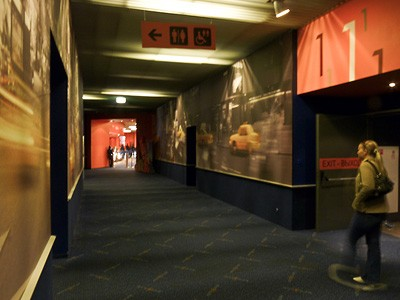 Входы в залы kinostar new york мега белая