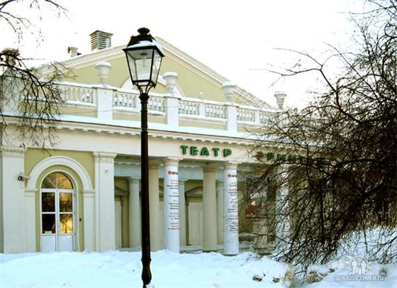 Театр Эрмитаж - Карта проезда