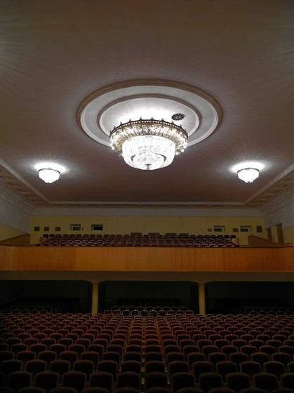 Концертный зал Дворца Молодежи