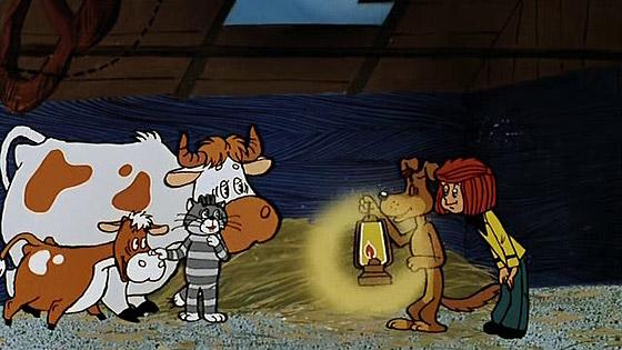 Простоквашино / Трое из Простоквашино (1978-1984) DVDRip.